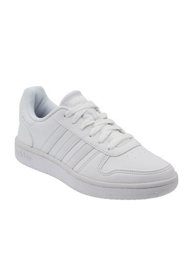 adidas Hoops 2.0 K Çocuk Günlük Spor Ayakkabısı F35891 Beyaz